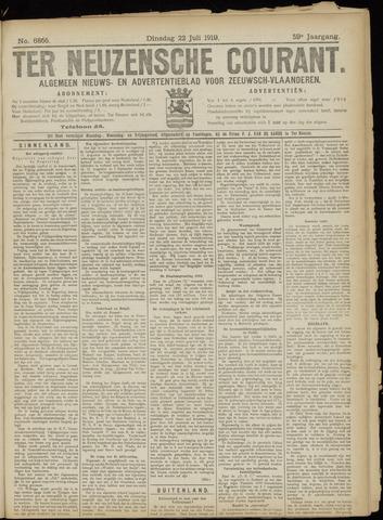 Ter Neuzensche Courant. Algemeen Nieuws- en Advertentieblad voor Zeeuwsch-Vlaanderen / Neuzensche Courant ... (idem) / (Algemeen) nieuws en advertentieblad voor Zeeuwsch-Vlaanderen 1919-07-22