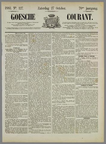Goessche Courant 1883-10-27