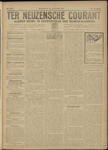 Ter Neuzensche Courant. Algemeen Nieuws- en Advertentieblad voor Zeeuwsch-Vlaanderen / Neuzensche Courant ... (idem) / (Algemeen) nieuws en advertentieblad voor Zeeuwsch-Vlaanderen 1931-01-19
