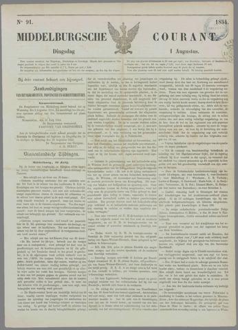 Middelburgsche Courant 1854-08-01
