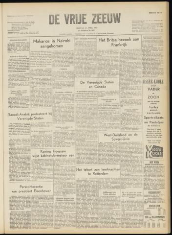 de Vrije Zeeuw 1957-04-12