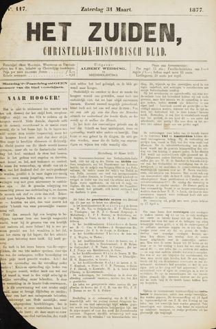 Het Zuiden, Christelijk-historisch blad 1877-03-31