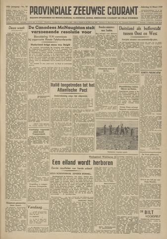Provinciale Zeeuwse Courant 1949-03-12