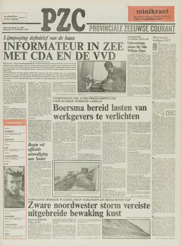Provinciale Zeeuwse Courant 1977-11-15