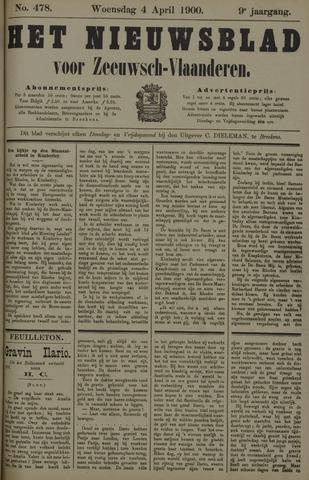 Nieuwsblad voor Zeeuwsch-Vlaanderen 1900-04-04