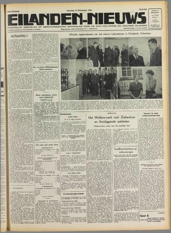 Eilanden-nieuws. Christelijk streekblad op gereformeerde grondslag 1949-11-12