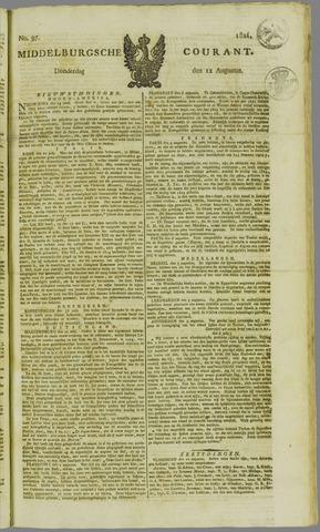 Middelburgsche Courant 1824-08-12