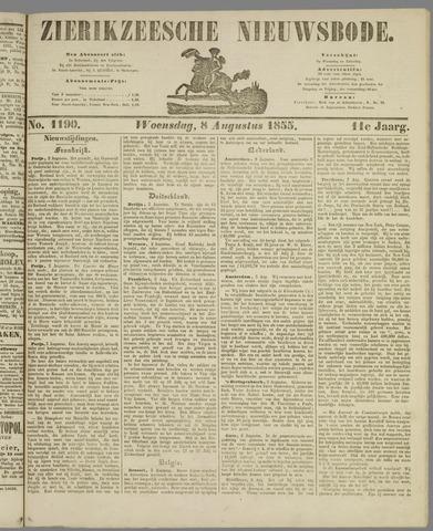 Zierikzeesche Nieuwsbode 1855-08-08