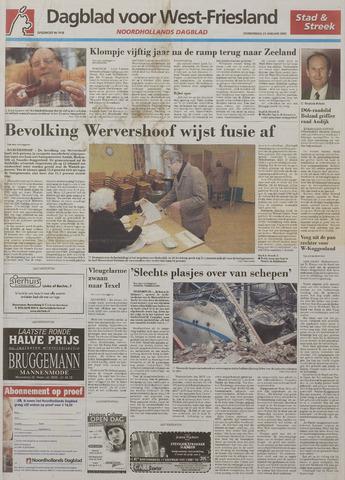 Watersnood documentatie 1953 - kranten 2003-01-23