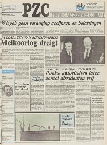Provinciale Zeeuwse Courant 1980-09-02