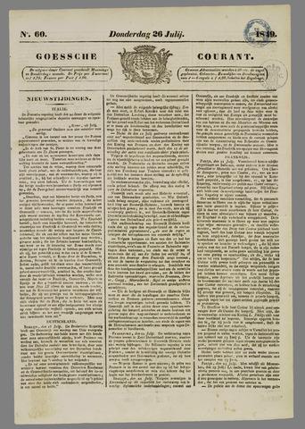 Goessche Courant 1849-07-26