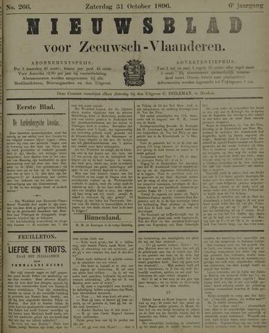 Nieuwsblad voor Zeeuwsch-Vlaanderen 1896-10-31