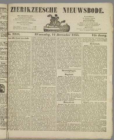 Zierikzeesche Nieuwsbode 1855-12-12