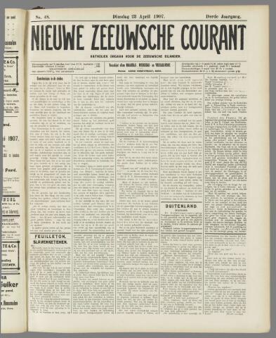 Nieuwe Zeeuwsche Courant 1907-04-23