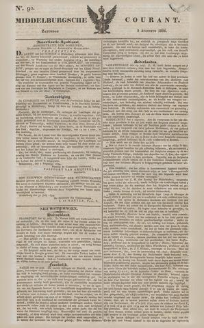 Middelburgsche Courant 1834-08-02