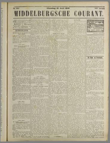 Middelburgsche Courant 1919-07-15