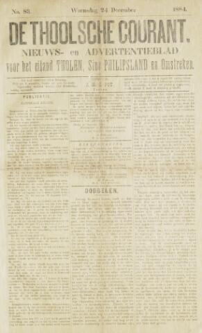 Ierseksche en Thoolsche Courant 1884-12-27