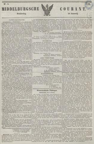 Middelburgsche Courant 1850-01-10