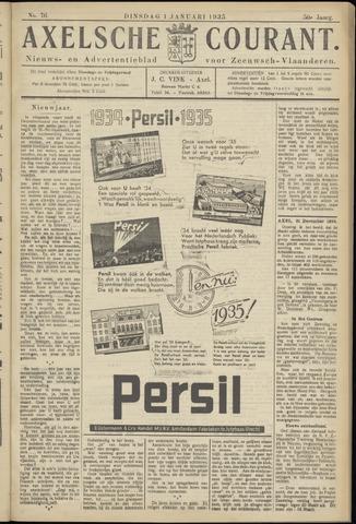 Axelsche Courant 1935