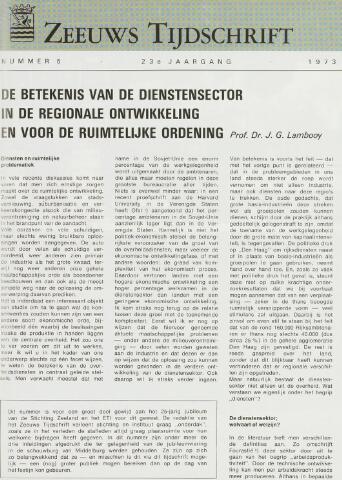 Zeeuws Tijdschrift 1973-09-01