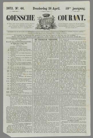 Goessche Courant 1872-04-18