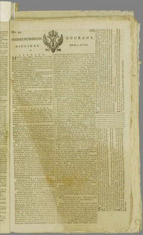 Middelburgsche Courant 1805-04-09