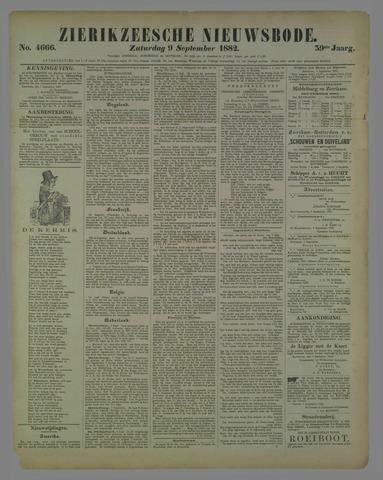 Zierikzeesche Nieuwsbode 1882-09-09