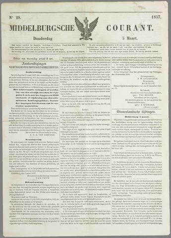 Middelburgsche Courant 1857-03-05