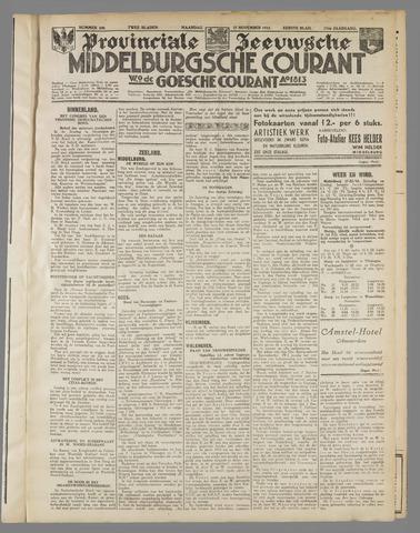 Middelburgsche Courant 1933-11-27