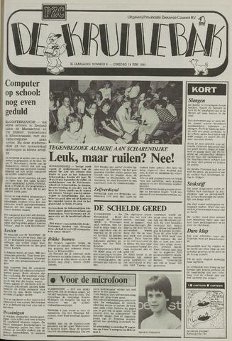 Provinciale Zeeuwse Courant katern Krullenbak (1981-1999) 1983-06-14