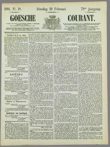 Goessche Courant 1891-02-10