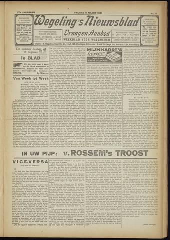 Zeeuwsch Nieuwsblad/Wegeling's Nieuwsblad 1931-03-06