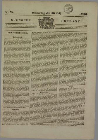 Goessche Courant 1843-07-20