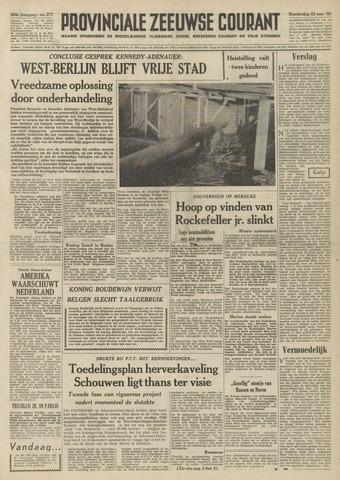 Provinciale Zeeuwse Courant 1961-11-23