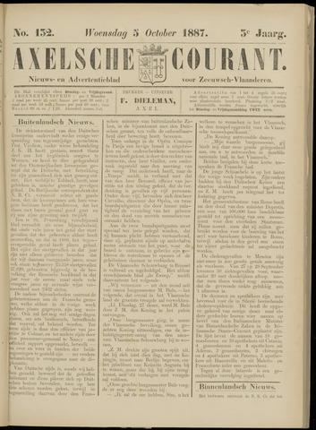 Axelsche Courant 1887-10-05