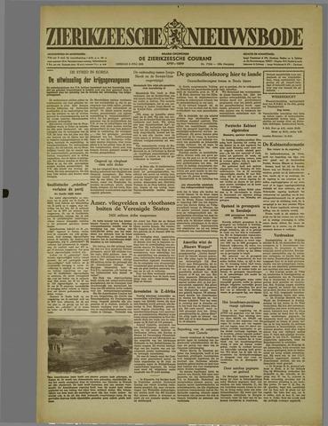 Zierikzeesche Nieuwsbode 1952-07-08
