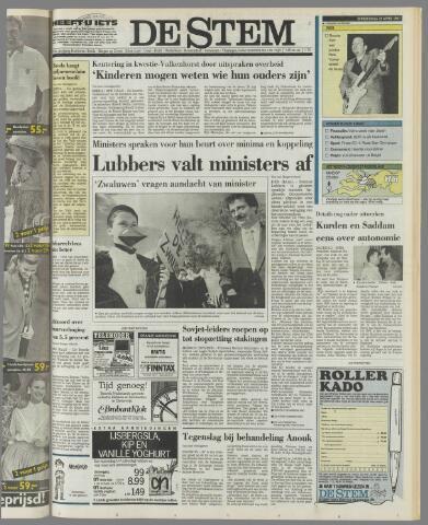 de Stem 1991-04-25