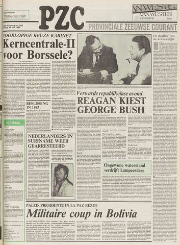 Provinciale Zeeuwse Courant 1980-07-18