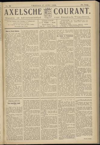 Axelsche Courant 1932-06-17