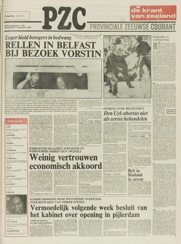 Provinciale Zeeuwse Courant 1977-08-11