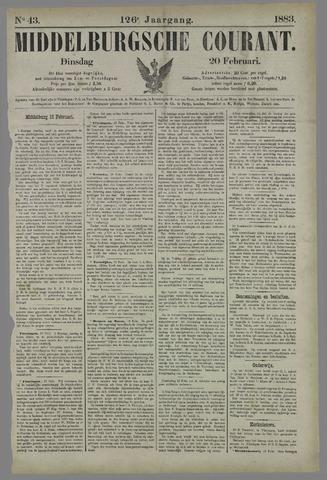 Middelburgsche Courant 1883-02-20