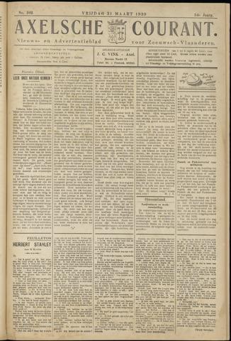 Axelsche Courant 1939-03-31