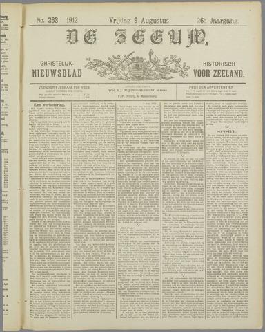 De Zeeuw. Christelijk-historisch nieuwsblad voor Zeeland 1912-08-09