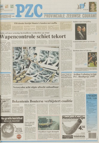 Provinciale Zeeuwse Courant 1998-12-09