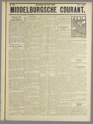 Middelburgsche Courant 1927-07-12
