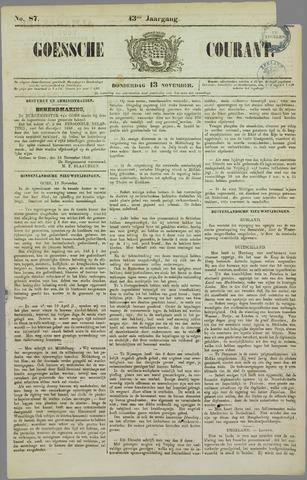 Goessche Courant 1856-11-13