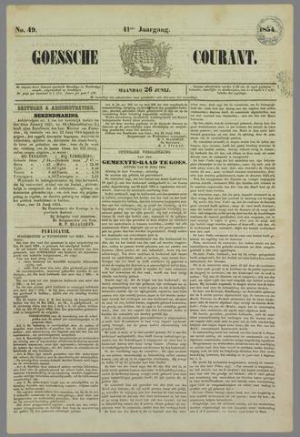 Goessche Courant 1854-06-26