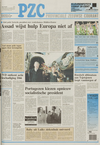 Provinciale Zeeuwse Courant 1996-01-15