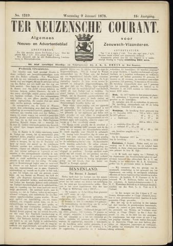 Ter Neuzensche Courant. Algemeen Nieuws- en Advertentieblad voor Zeeuwsch-Vlaanderen / Neuzensche Courant ... (idem) / (Algemeen) nieuws en advertentieblad voor Zeeuwsch-Vlaanderen 1878-01-09