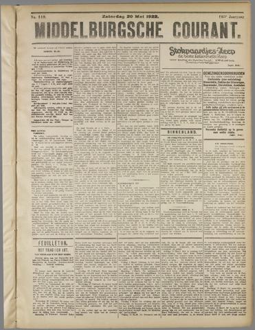 Middelburgsche Courant 1922-05-20